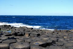 Giant's Causeway, Antrim coast, Northern Ireland Stock Images