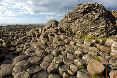 Giant's Causeway, Antrim, Northern Ireland.  royalty free stock photography