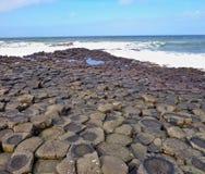 Giant& x27;s Causeway. Antrim, UK Royalty Free Stock Images