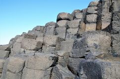 Giant`s Causeway Royalty Free Stock Image