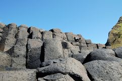 Giant`s Causeway Royalty Free Stock Images