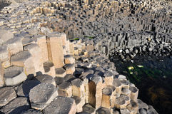 Giant's Causeway, County Antrim, Northern Ireland Stock Photography