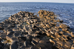 Giant's Causeway, County Antrim, Northern Ireland Stock Image