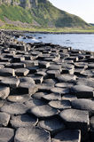 Giant's Causeway, County Antrim, Northern Ireland. Giant's Causeway, County Antrim (Northern Ireland royalty free stock image