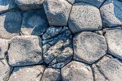 Giant s Causeway detail Stock Image