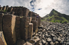 Giant's Causeway. Ireland's famous landmark stock photos