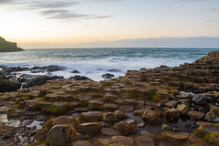 The Giant`s Causeway Royalty Free Stock Photo