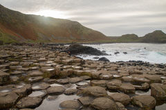 The Giant`s Causeway Stock Images