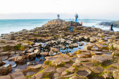 The Giant`s Causeway Royalty Free Stock Images