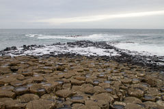 The Giant`s Causeway Royalty Free Stock Photography