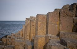 The Giant's Causeway, Northern Ireland Royalty Free Stock Image