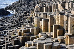 Giant's Causeway, Northern Ireland. Giant's Causeway, County Antrim, Northern Ireland royalty free stock photo