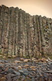 Giant's Causeway in Northern Ireland Stock Photos