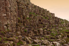 Giant's Causeway in Northern Ireland Royalty Free Stock Photo