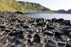 Giant's Causeway (Northern Ireland). Giant's Causeway in Northern Ireland Stock Photos