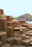 Giant's Causeway, Northern Ireland. View of Basalt rock formations at the Giant's Causeway, Antrim, Ireland stock image