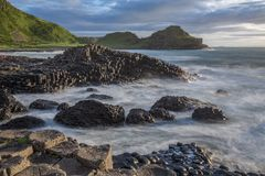 The Giant`s Causeway - Northern Ireland stock photos