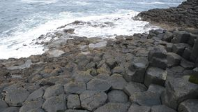 Giant`s Causeway, Northern Ireland stock footage