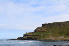 Giant`s Causeway, Northern Ireland. The famous landscape of Giant`s Causeway in Northern Ireland stock photos