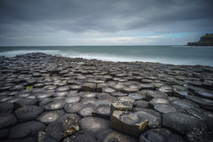 Giant`s Causeway, Northern Ireland, landscape version Royalty Free Stock Photography