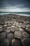 GIant`s Causeway, Northern Ireland, vertical composition Royalty Free Stock Photos