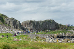 Giant s causeway Stock Photography