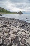 Giant's Causeway volcanic formations Royalty Free Stock Image