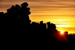 Giant's Playground at Sunset, Keetmanshoop, Namibia, Africa Stock Photography