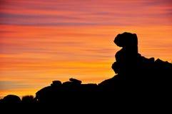 Giant's Playground at Sunset, Keetmanshoop, Namibia, Africa Stock Photos