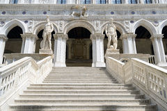 Giant's Stairway of the Doge's Palace, Venice. Italy Stock Image