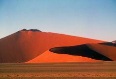 Giant sand dunes stock photography