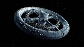 Giant sci-fi torus