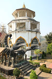 Giant Scorpion and Tower Royalty Free Stock Image