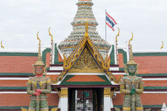 Giant Sculpture at Grand Palace Stock Photo
