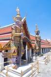 Giant sculpture in Wat Phra Kaew. Giant sculpture in Wat Phra Kaew Temple, Thailand Stock Image