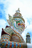 Giant sculpture in Wat Pra Kaeo Temple Stock Photos