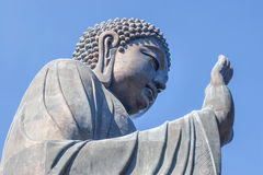 Giant seated buddha Stock Photo
