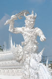 Giant security Wat Rong Khun Chiang Rai Thailand Royalty Free Stock Photo