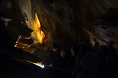 Giant Shawl Jenolan Caves Blue Mountains New South Wales Austral Stock Image
