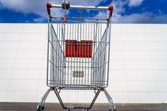Giant shopping cart Royalty Free Stock Photos