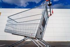 Giant shopping cart Stock Photos