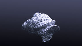 Giant silver nugget Stock Images