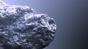 Giant silver nugget Royalty Free Stock Image