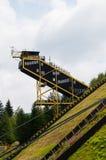 Giant ski bridge Royalty Free Stock Photos