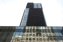 Giant Skyscraper in Chicago Stock Photo