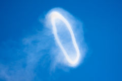 Giant Smoke Ring Royalty Free Stock Images
