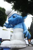 Giant Smurf Royalty Free Stock Images