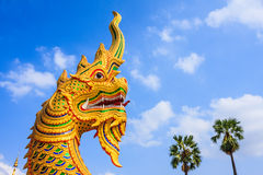 Giant Snake Sculpture Royalty Free Stock Photography
