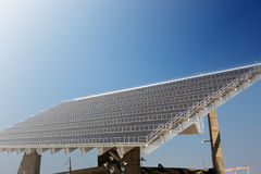 Giant solar panel Stock Photography