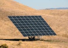 Giant solar panel Stock Photo